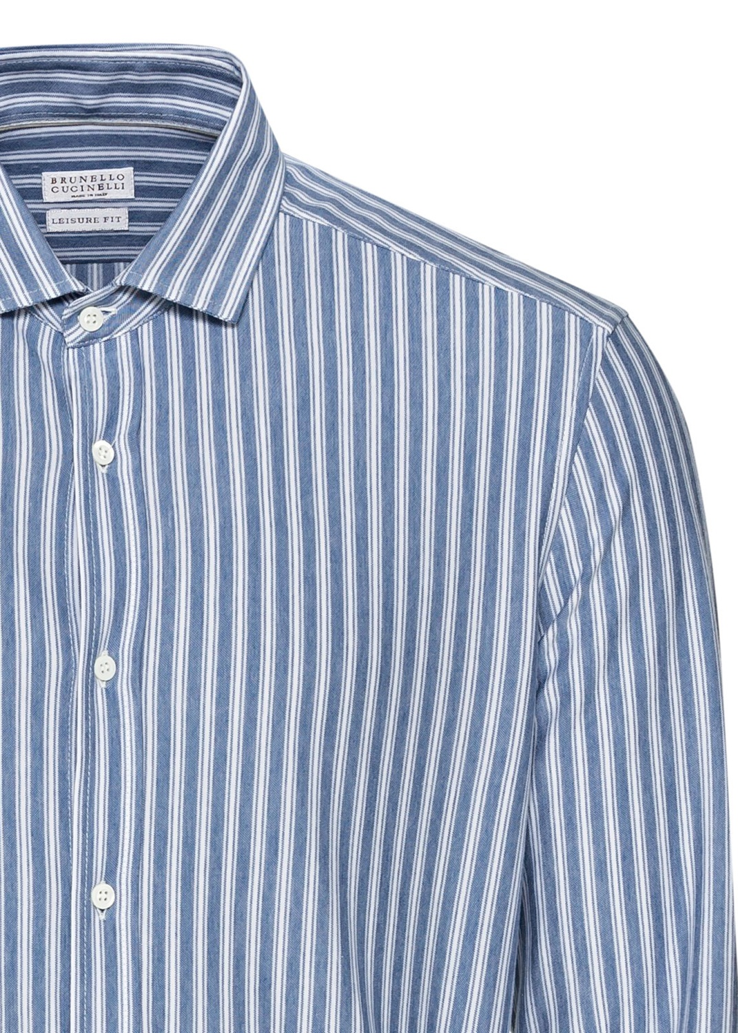 Cotton Jersey Striped Shirt image number 2