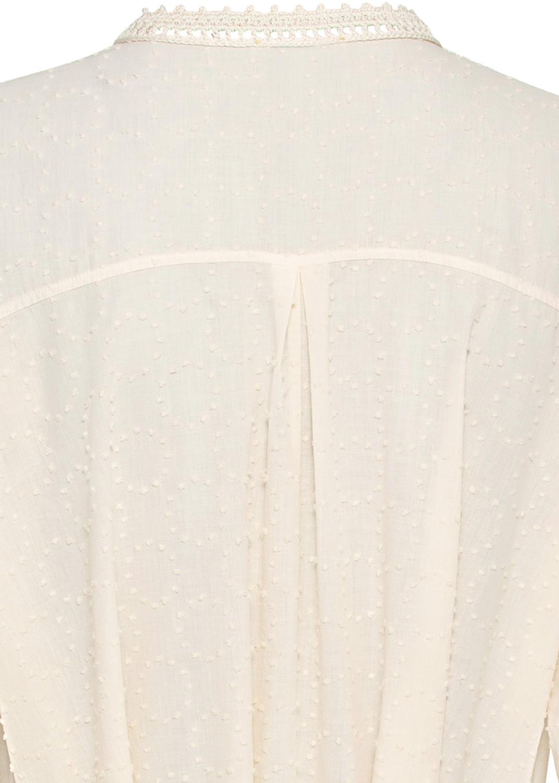 plumetis cotton kaftan dress image number 3