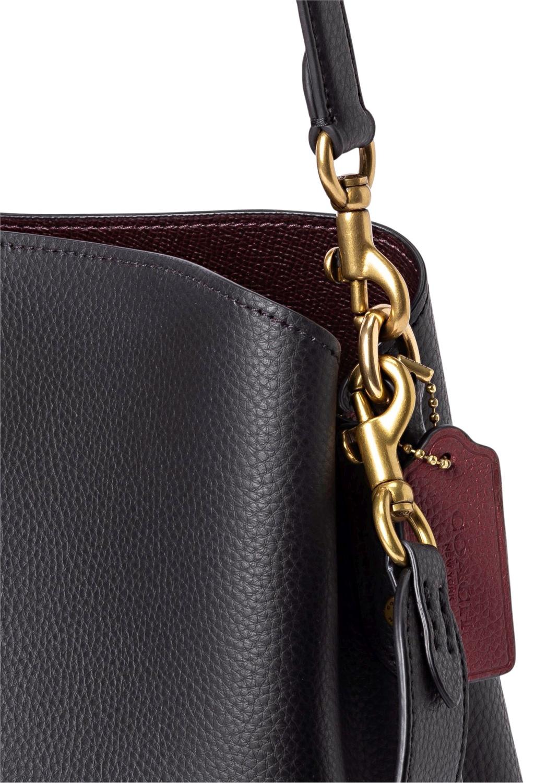 polished pebble leather willow shoulder bag image number 2