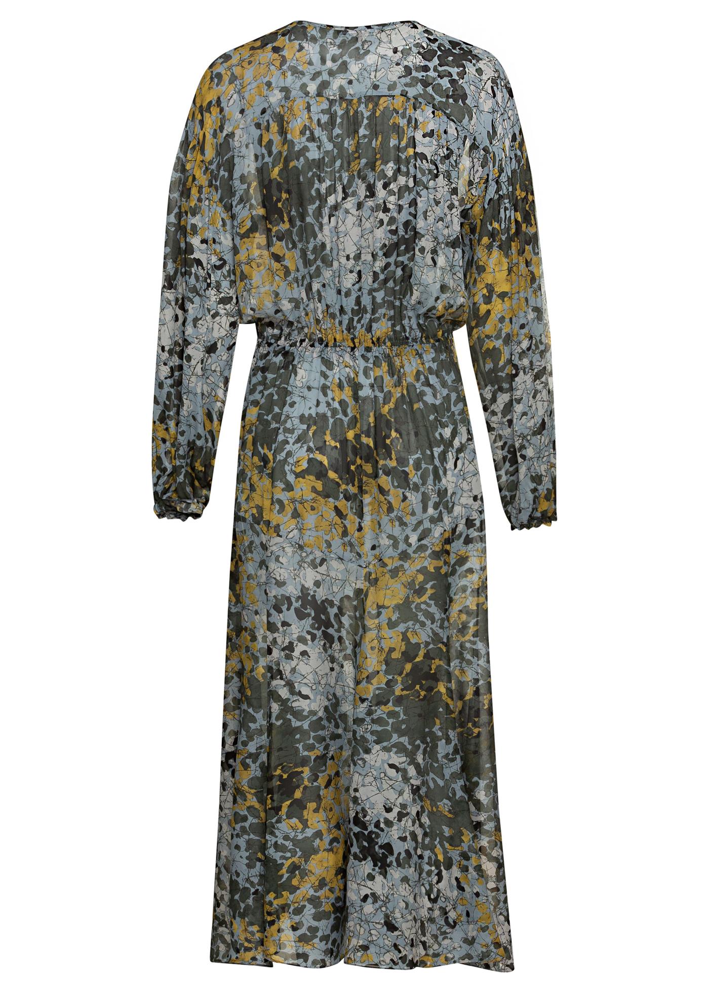 Midi-Kleid Camouflage-Print image number 1