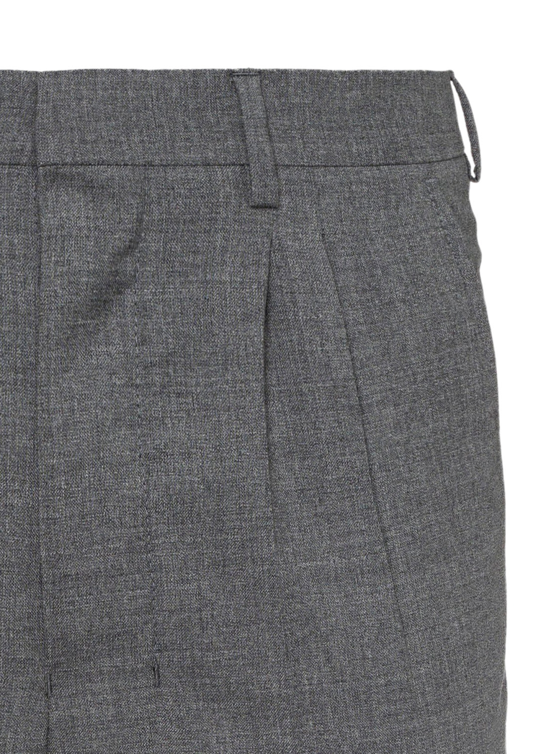 MEN PLEATED CARROT FIT TROUSERS image number 2