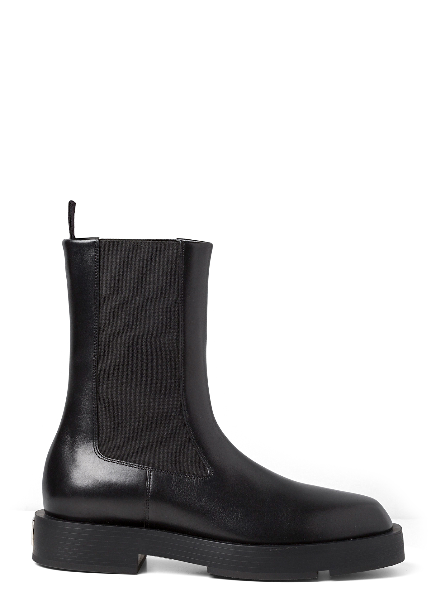 SQUARED FLAT CHELSEA ANKLE BOOT image number 0