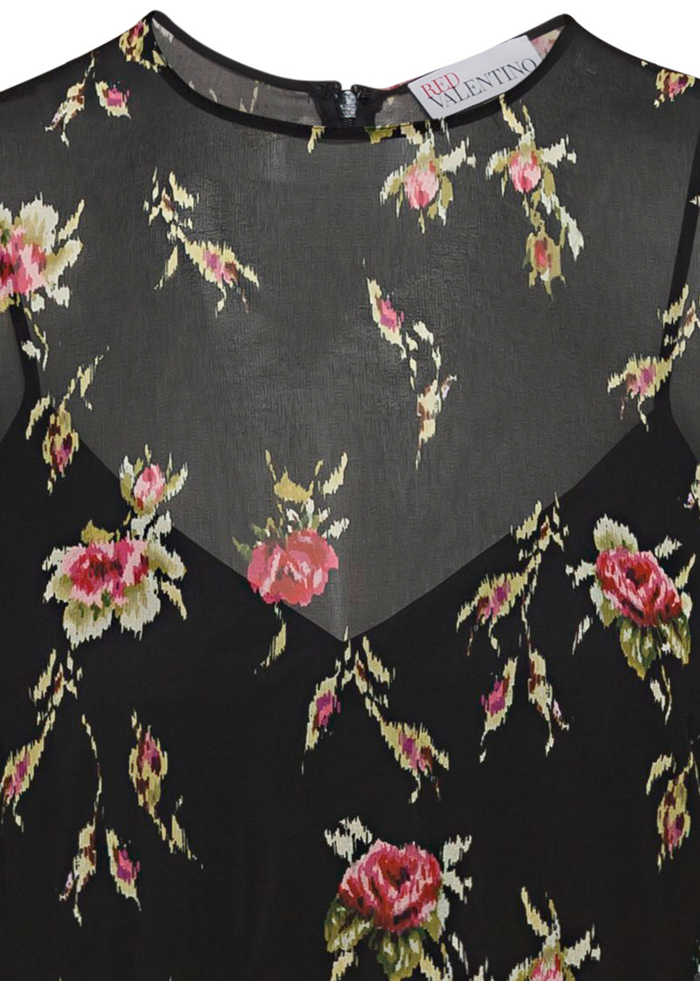 COORD. ABITO STAMPA SWEET ROSES, MUSSOLA image number 2