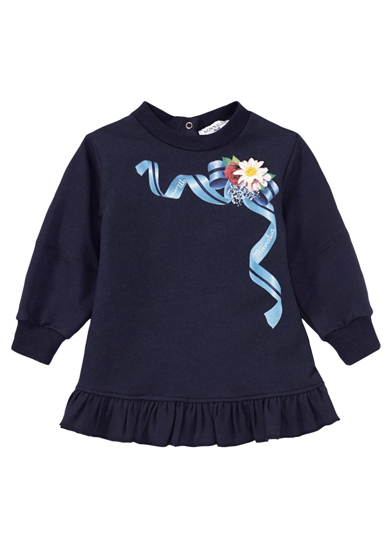 LS ML Sweat Dress image number 0