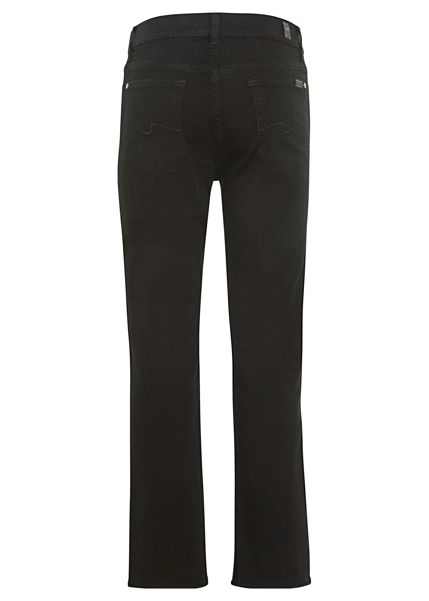 THE STRAIGHT CROP Bair Rinsed Black with Exposed Buttons image number 1