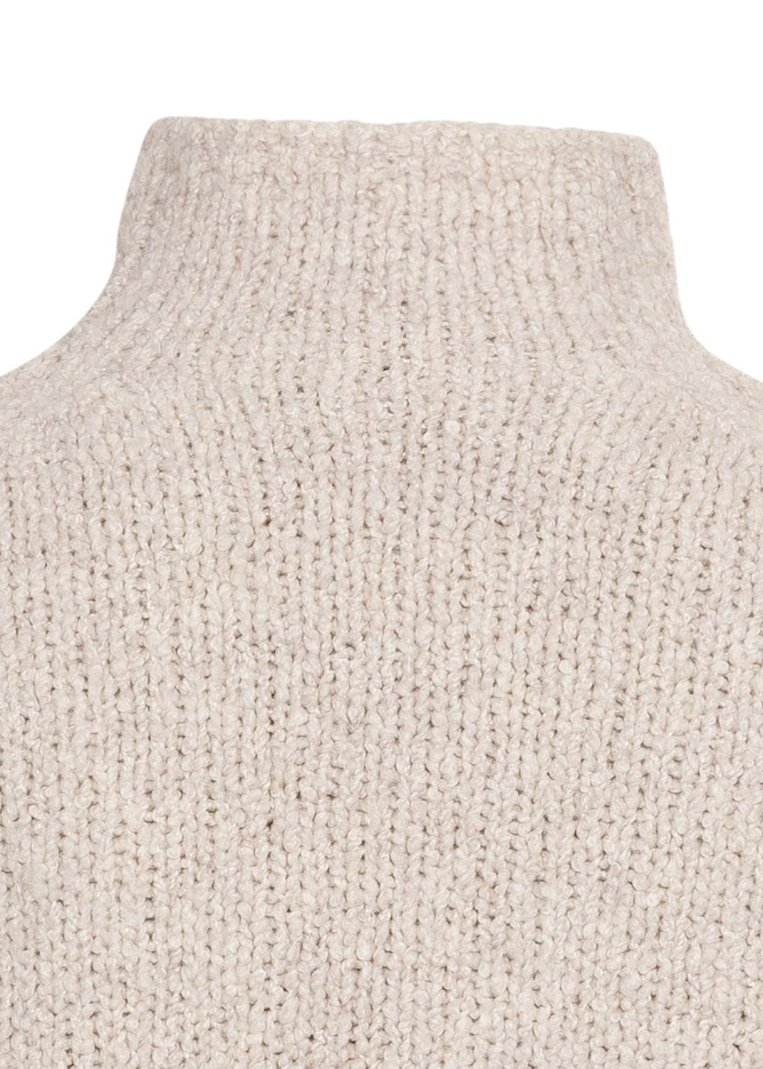 TEXTURED FUNNEL NK PULLOVER image number 3