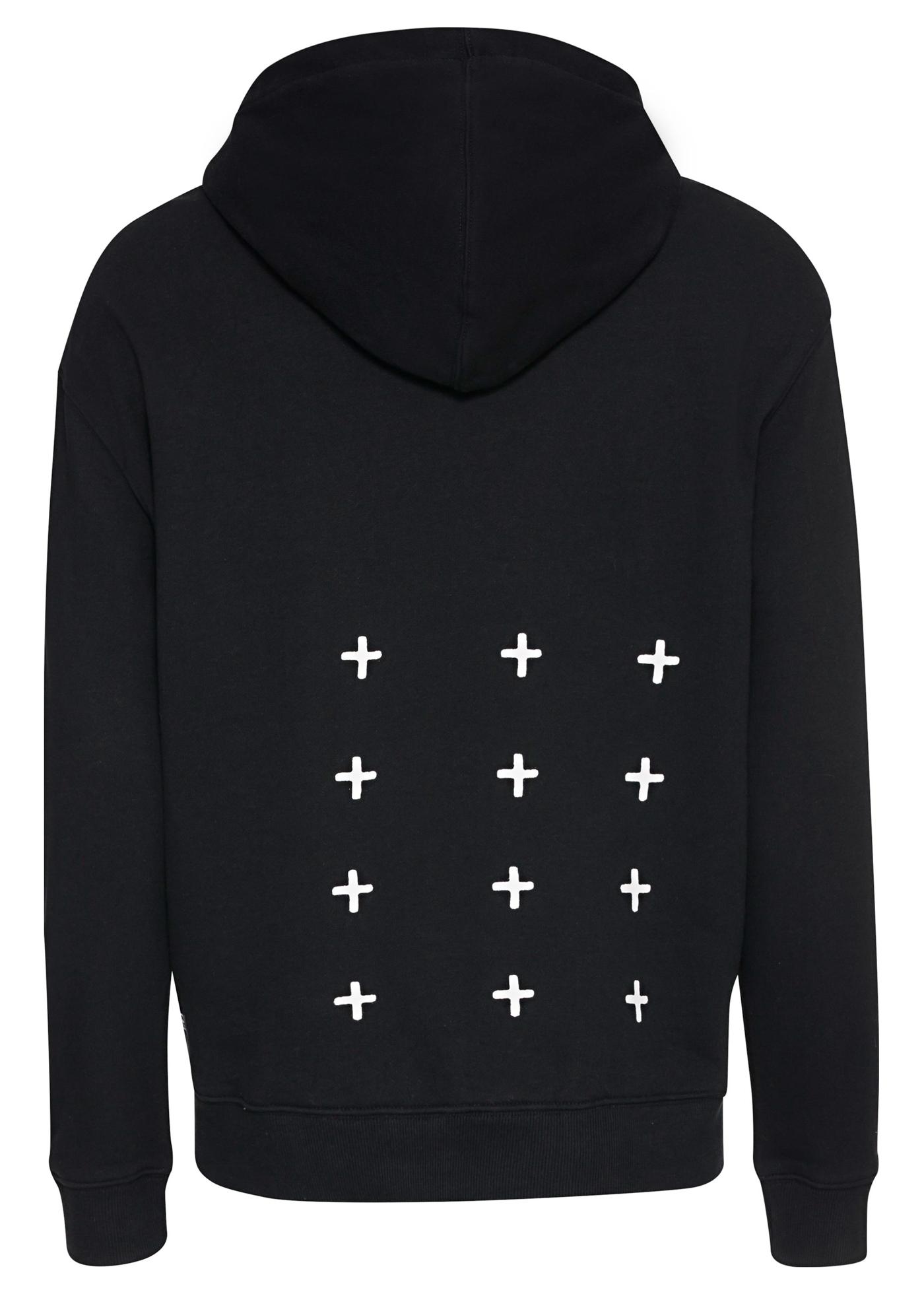 kross biggie hoodie jet black image number 1