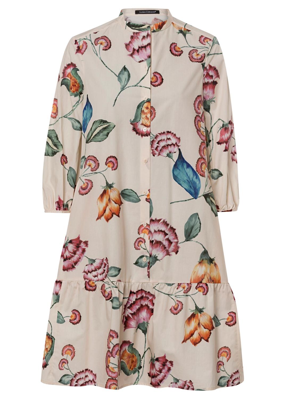 Kleid mit Flower-Print image number 0