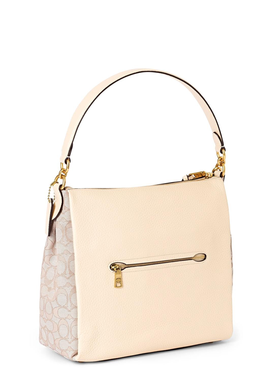 signature jacquard shay shoulder bag image number 1