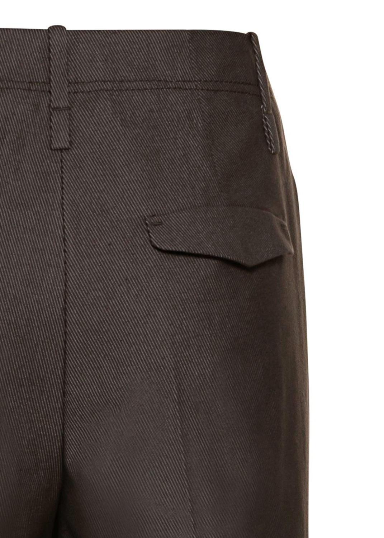 Gabardine-Wideleg-Pants image number 3