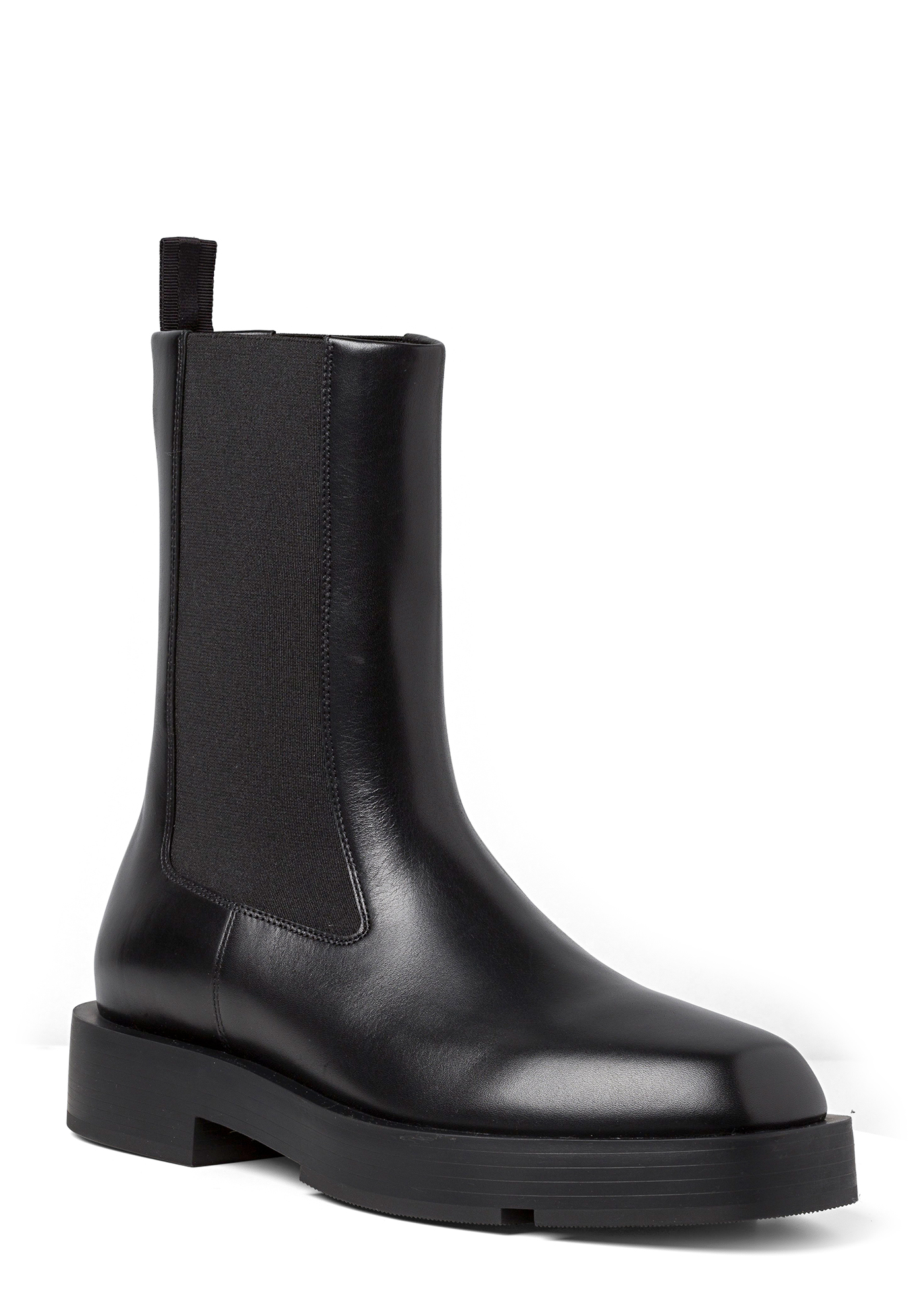 SQUARED FLAT CHELSEA ANKLE BOOT image number 1