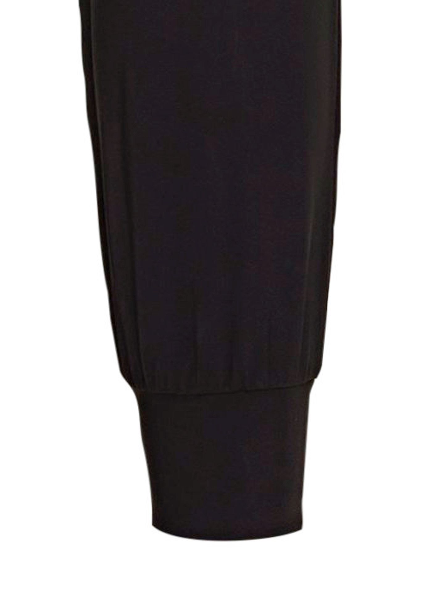 LUXE LEGER TRACK PANTS BLACK image number 3