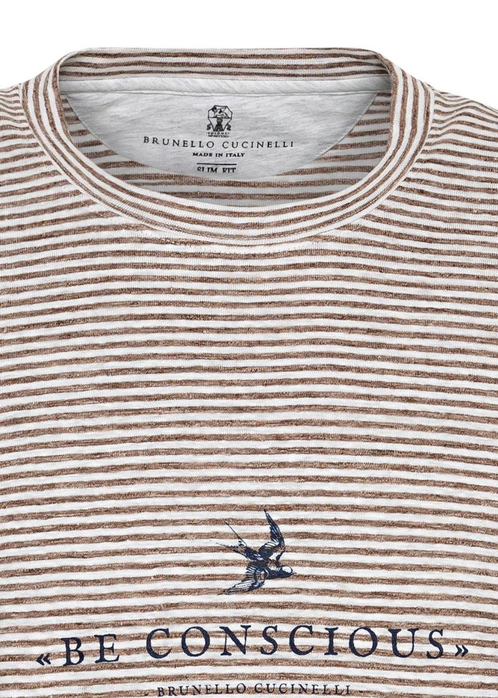 Linen Strech T Shirt Logo image number 2