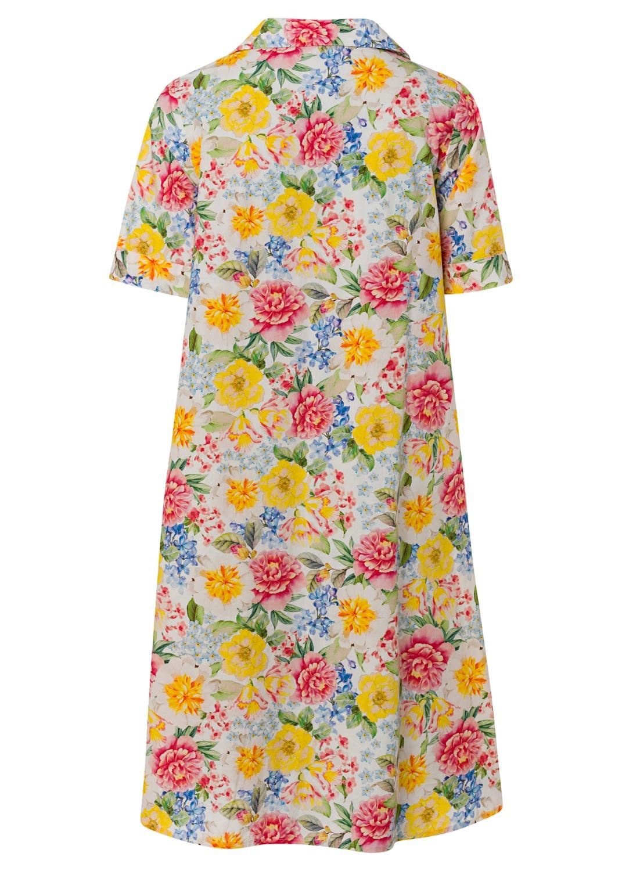 Fantastic flower collar dress image number 1