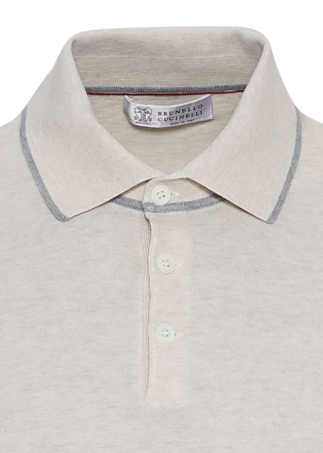 Short Sleeve knitted Polo superlight cotton image number 2