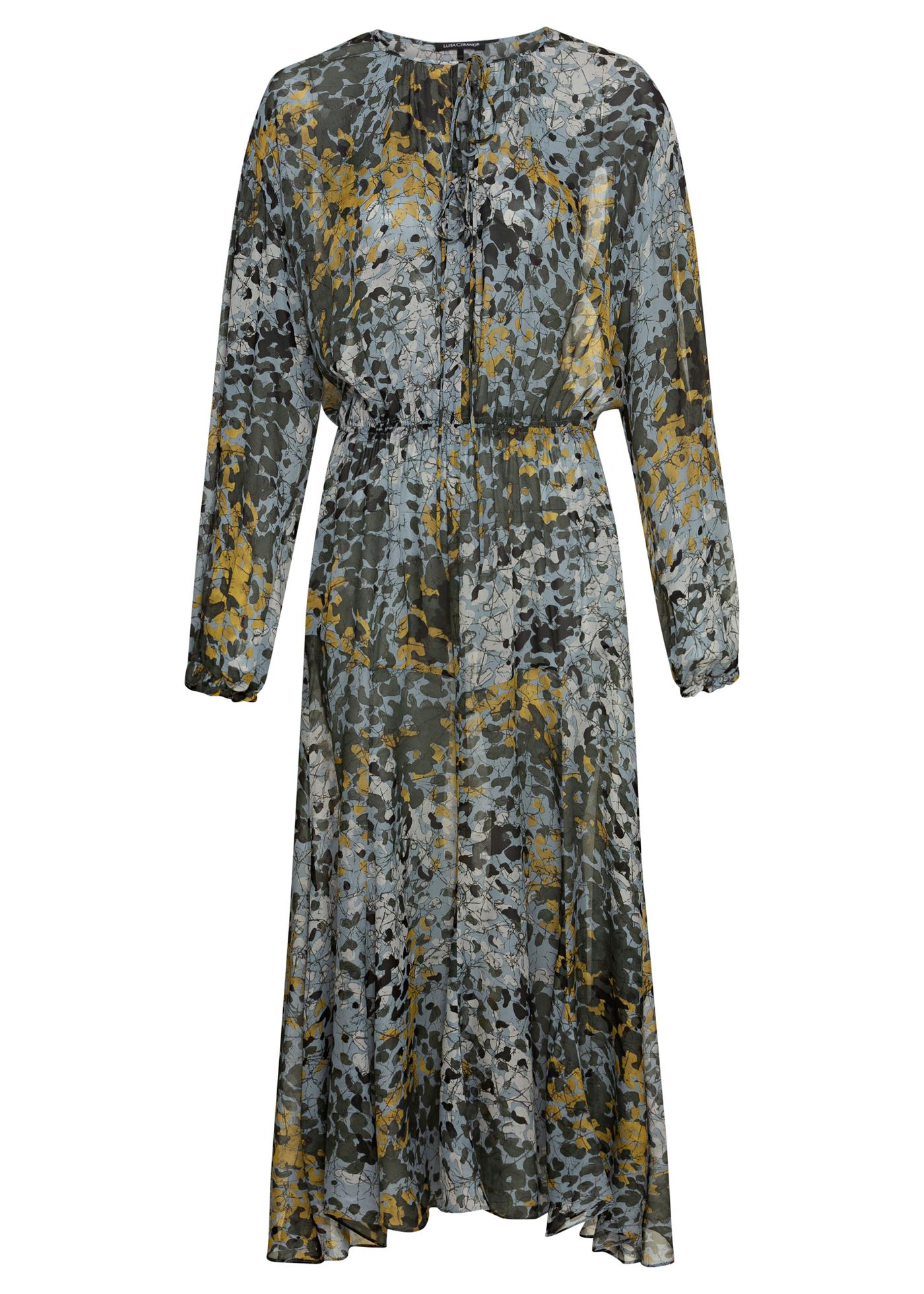 Midi-Kleid Camouflage-Print image number 0