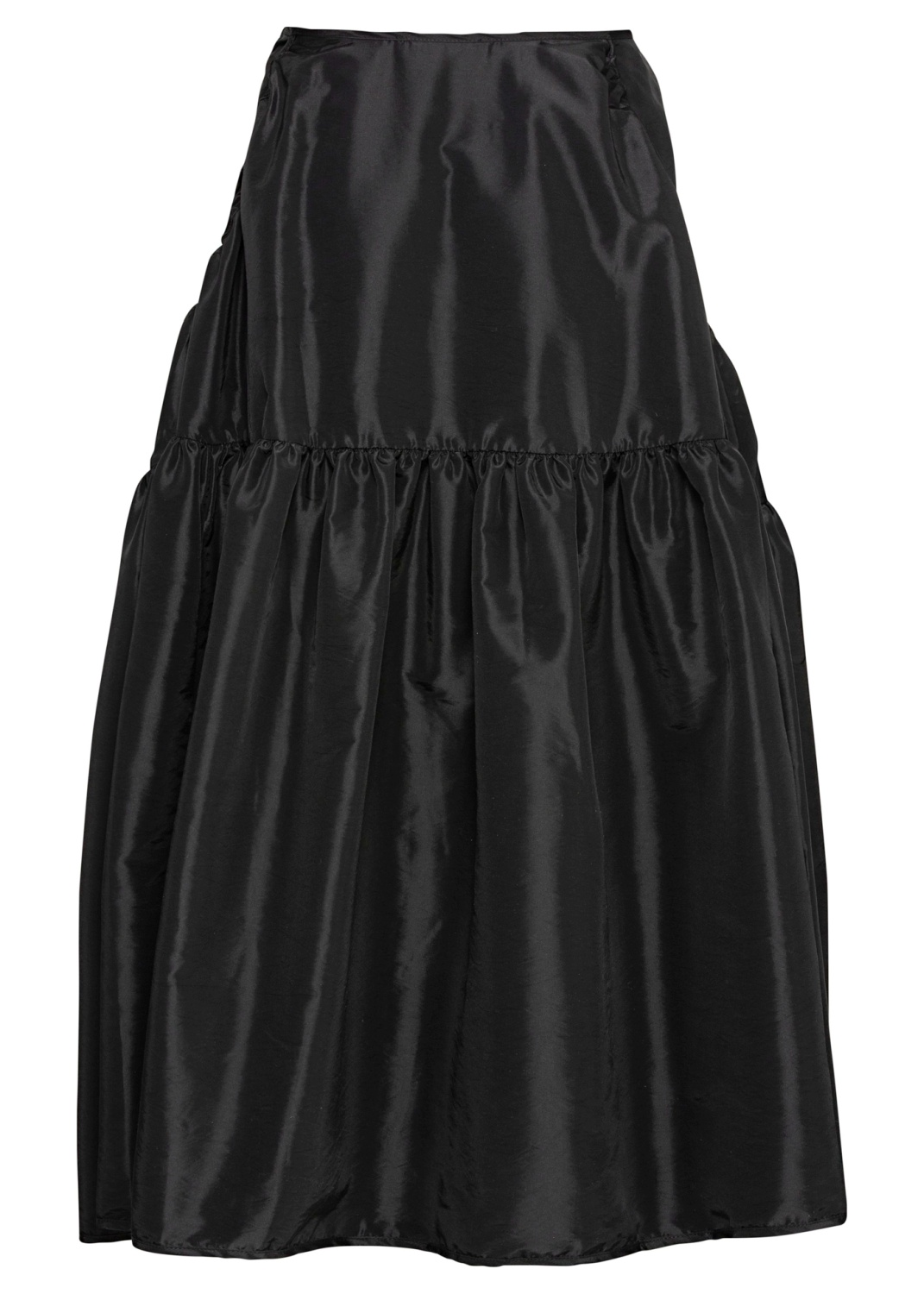PANEL SKIRT WITH WIDE POCKETS image number 1