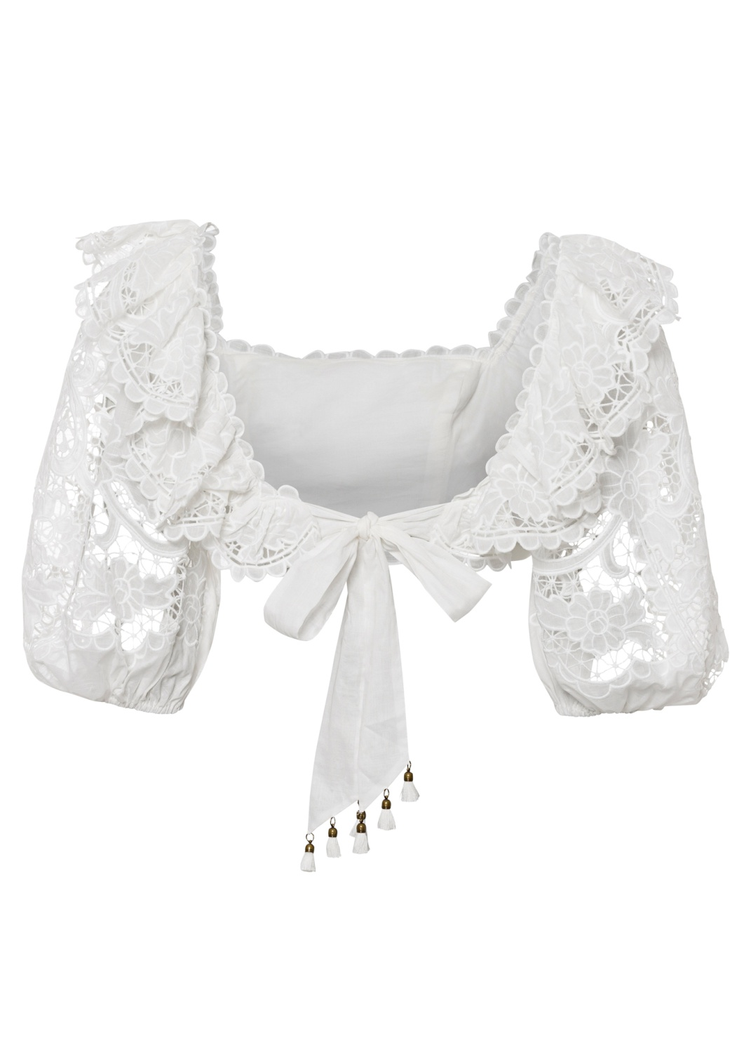 Lulu Scallop Frill Top image number 1