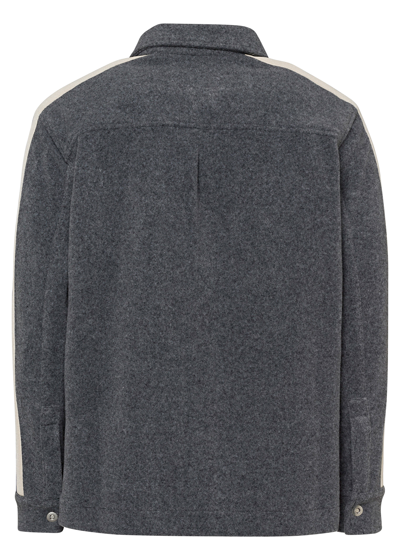 WOOL TRACK SHIRT image number 1