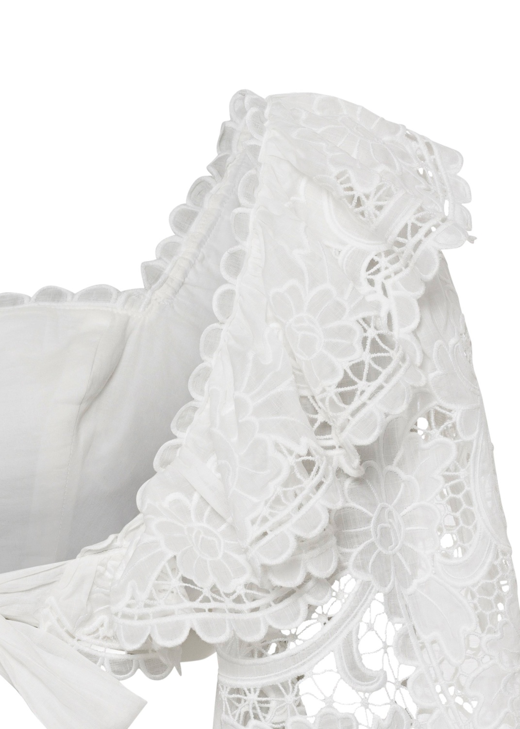 Lulu Scallop Frill Top image number 3