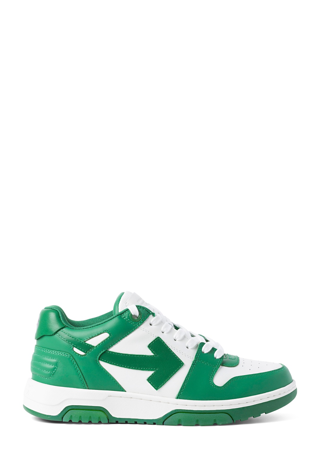 OUT OF OFFICE CALF LEATHER WHITE GREEN image number 0