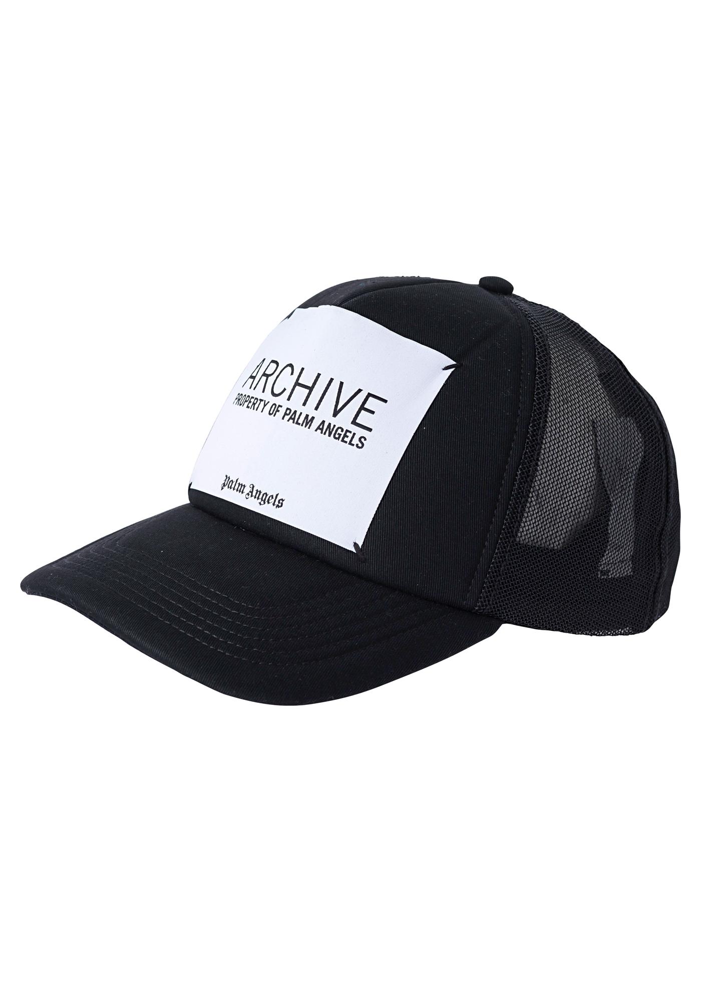 ARCHIVE CAP  BLACK WHITE image number 0