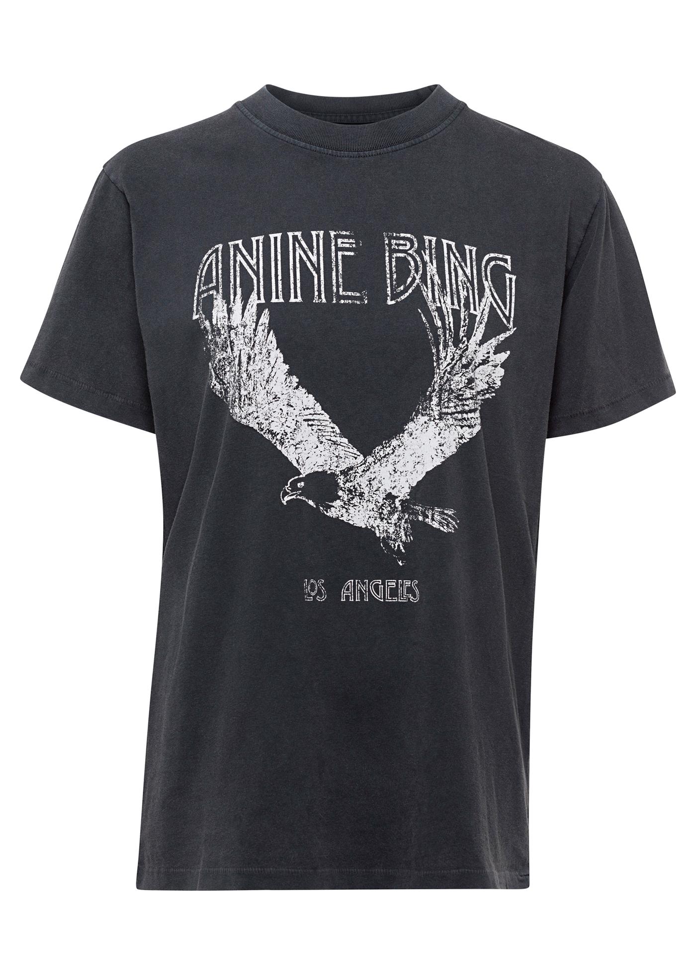 LILI TEE EAGLE - WASHED BLACK image number 0