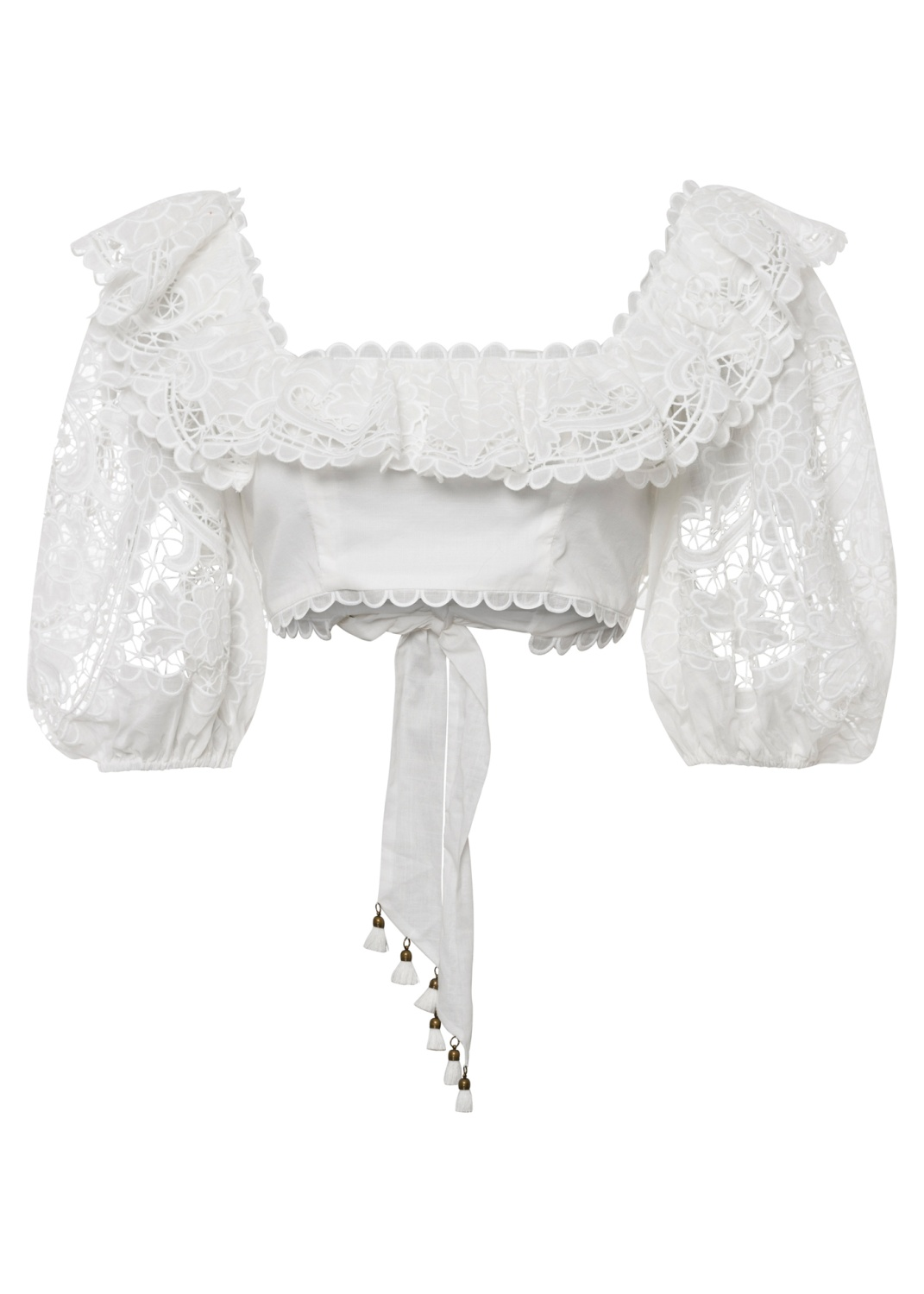 Lulu Scallop Frill Top image number 0