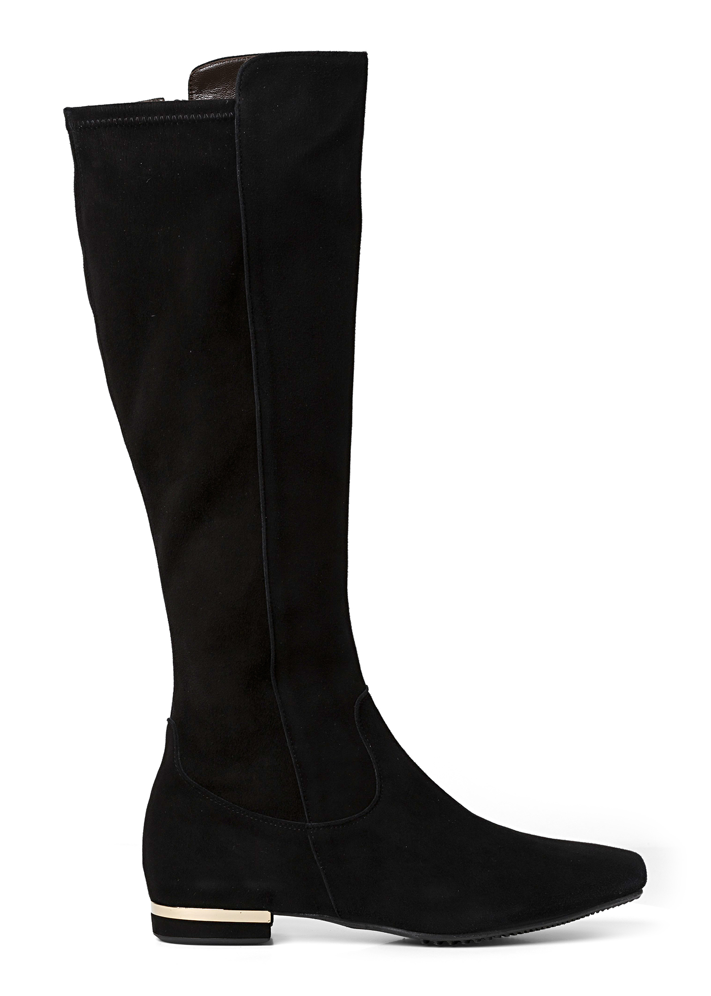 VELOUR BOOT image number 0