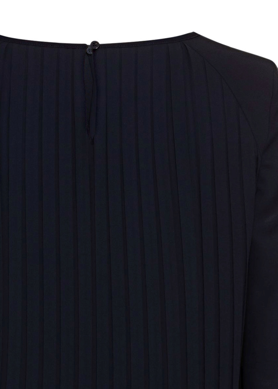 Langarm-Plissee-Kleid image number 3