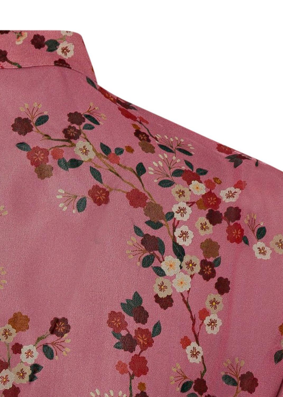 Kleid mit Kirschblüten-Print image number 3