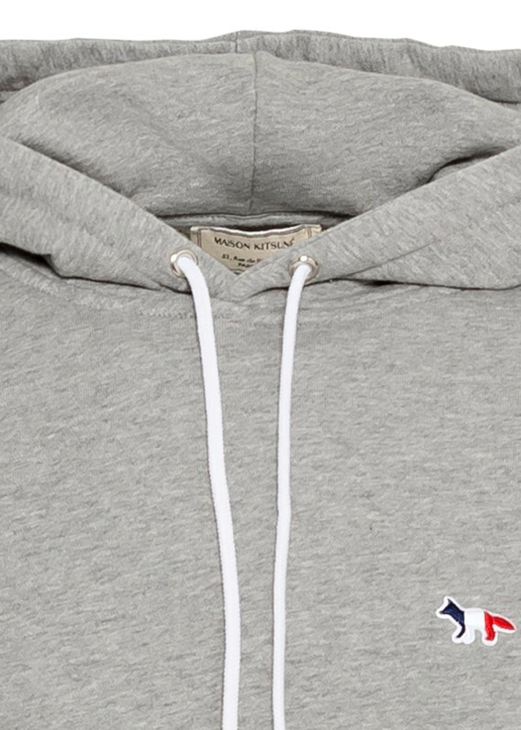 HOODIE TRICOLOR FOX PATCH image number 2