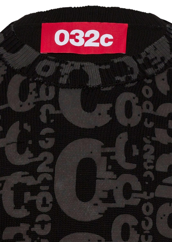 ALLOVER 032C LOGO PULLOVER image number 2