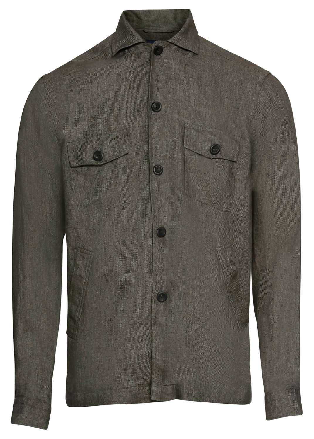1000020886809 Men shirt: Casual / Linen Twill image number 0