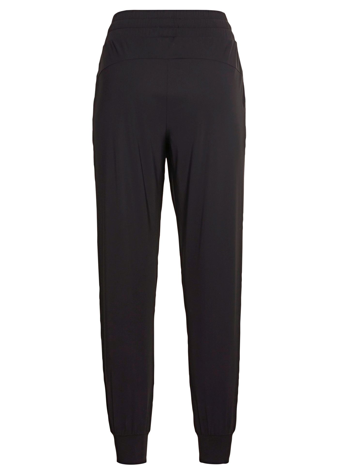 LUXE LEGER TRACK PANTS BLACK image number 1