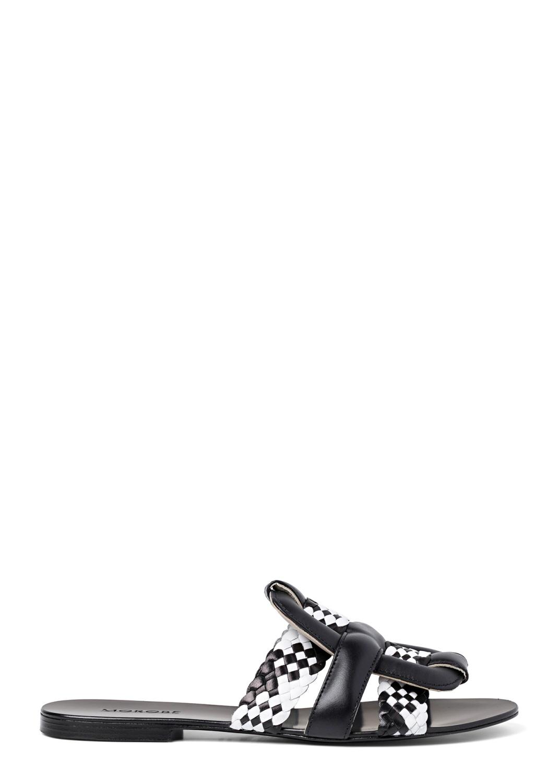 Sandale b/w Flecht Optik image number 0