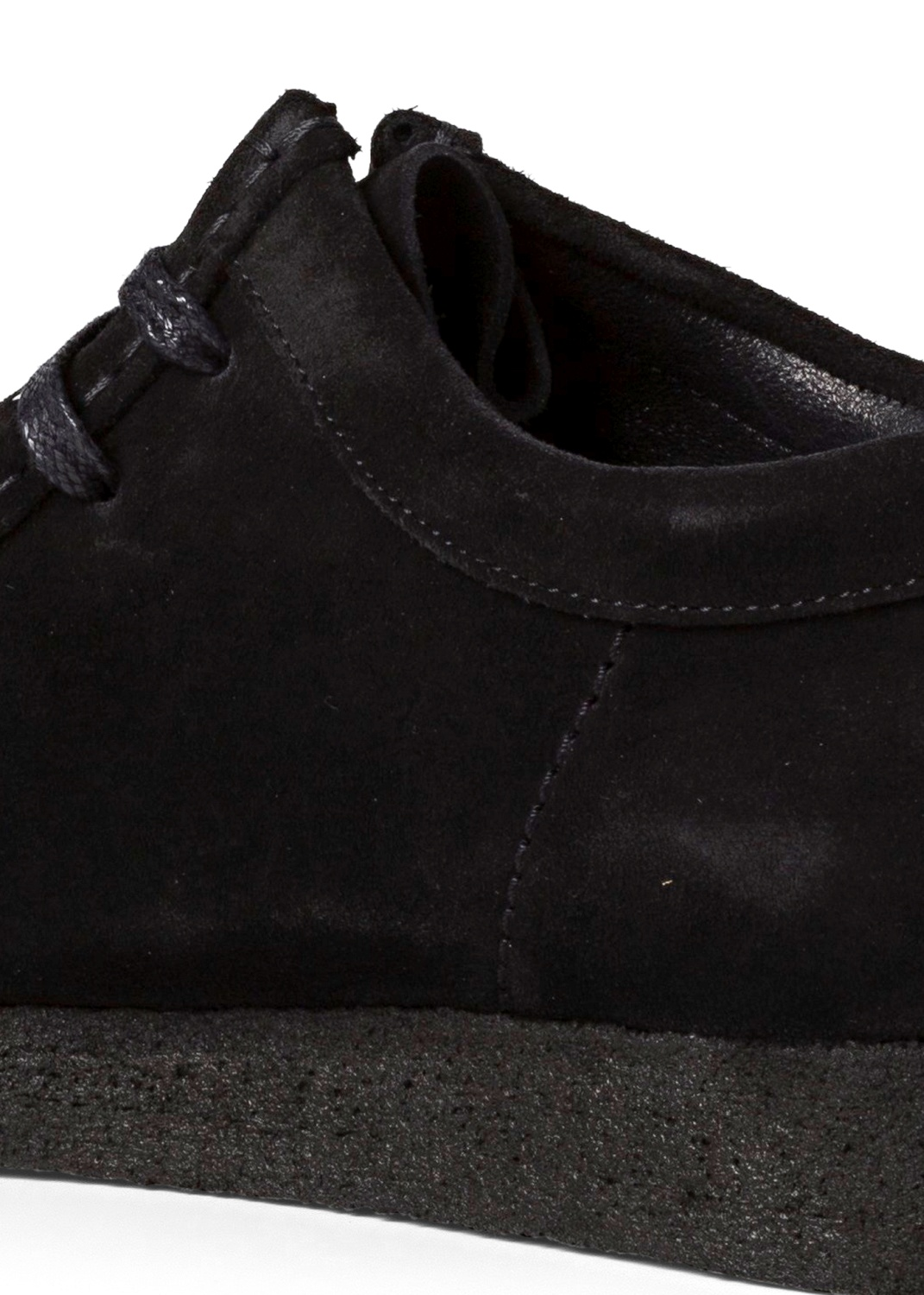 WALLABEE SUEDE  BLACK WHITE image number 3