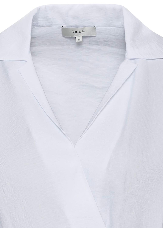 L/S WRAP SHIRT DRESS image number 2