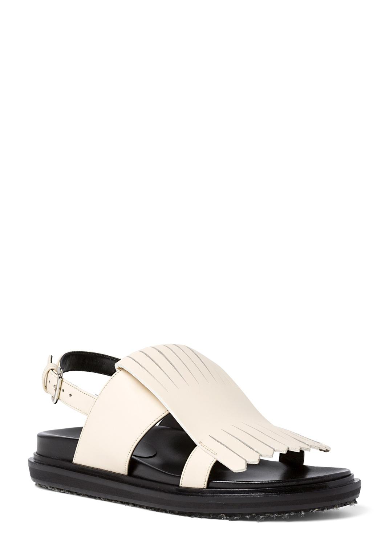 5_Flat Fringes Sandal Nappa image number 1