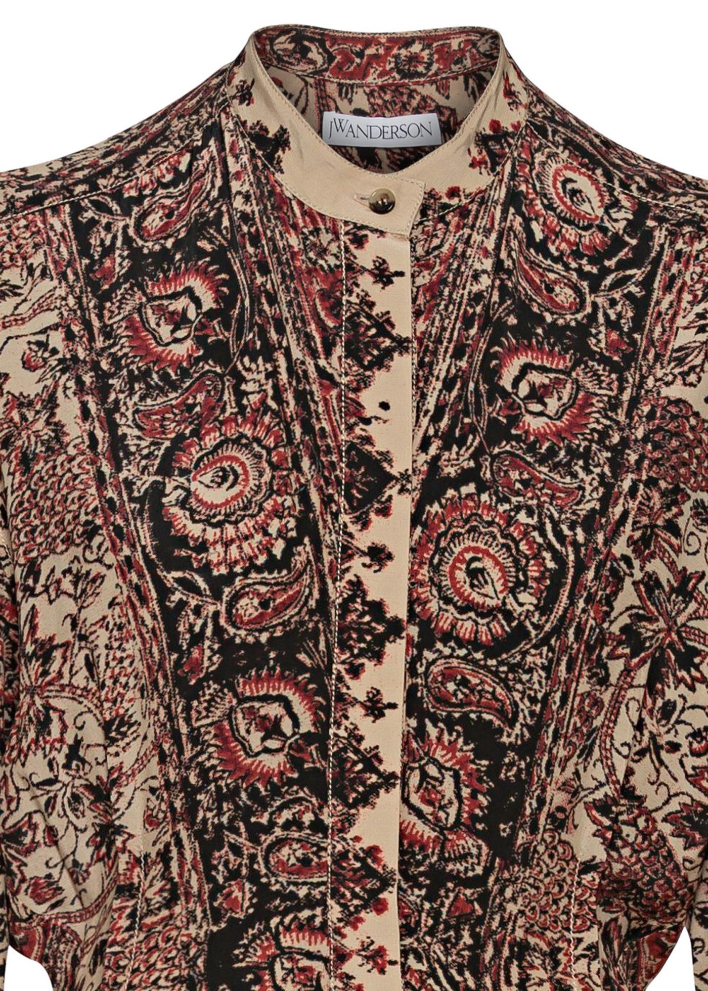 EMBELLISHED ASYMMETRIC SHIRT DRESS image number 2