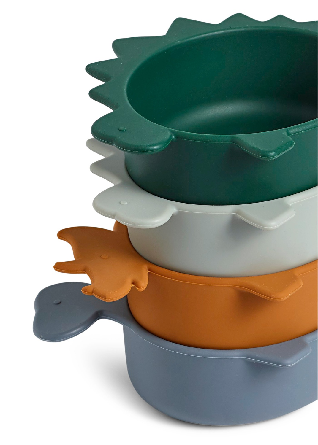 Iggy silicone bowls - 4 pack image number 1