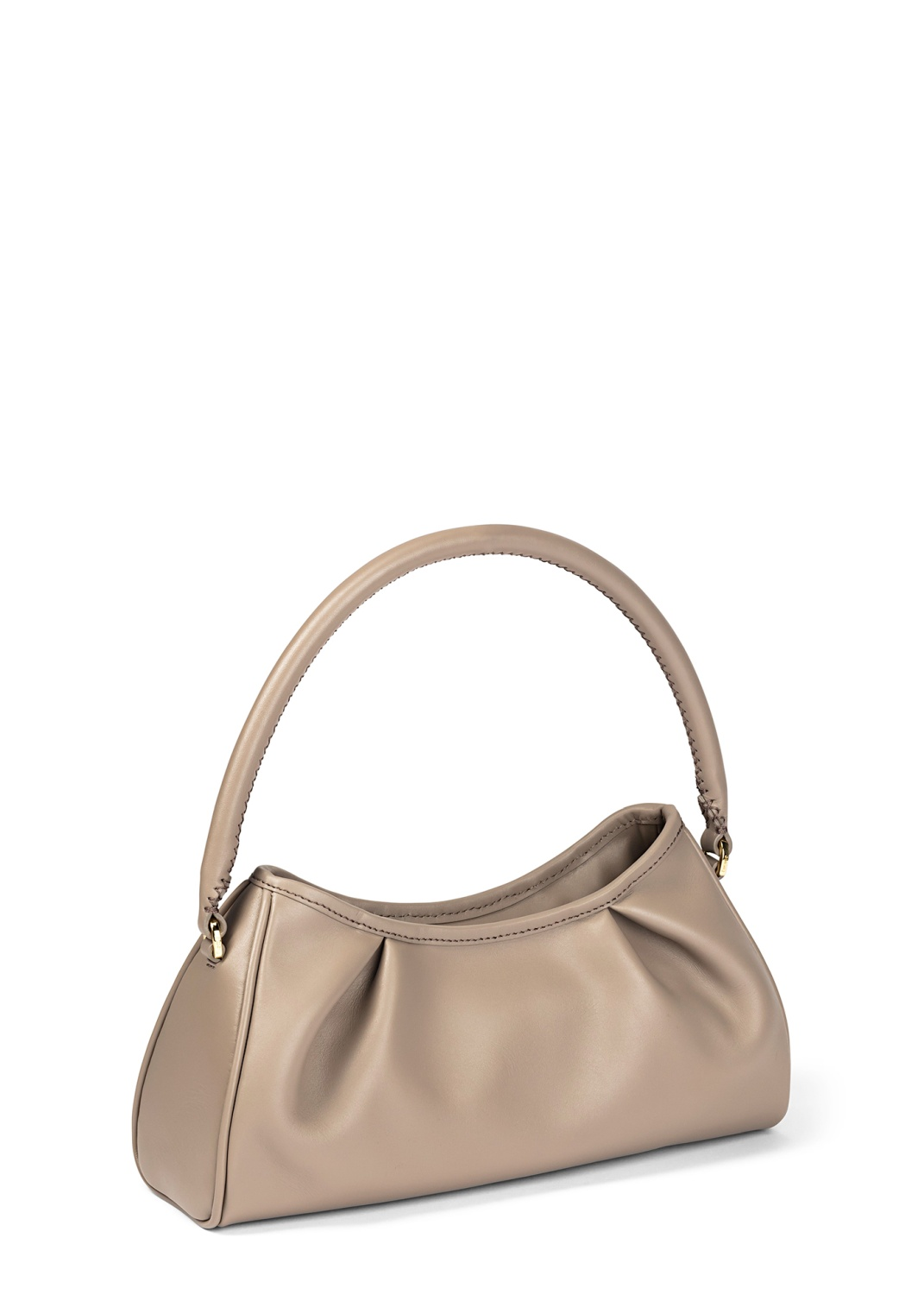 Dimple Leather Baguette Bag image number 1