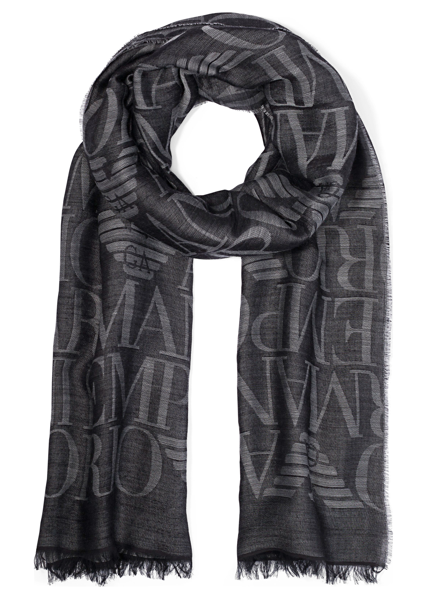 WOVEN STOLE 77X190 W image number 0