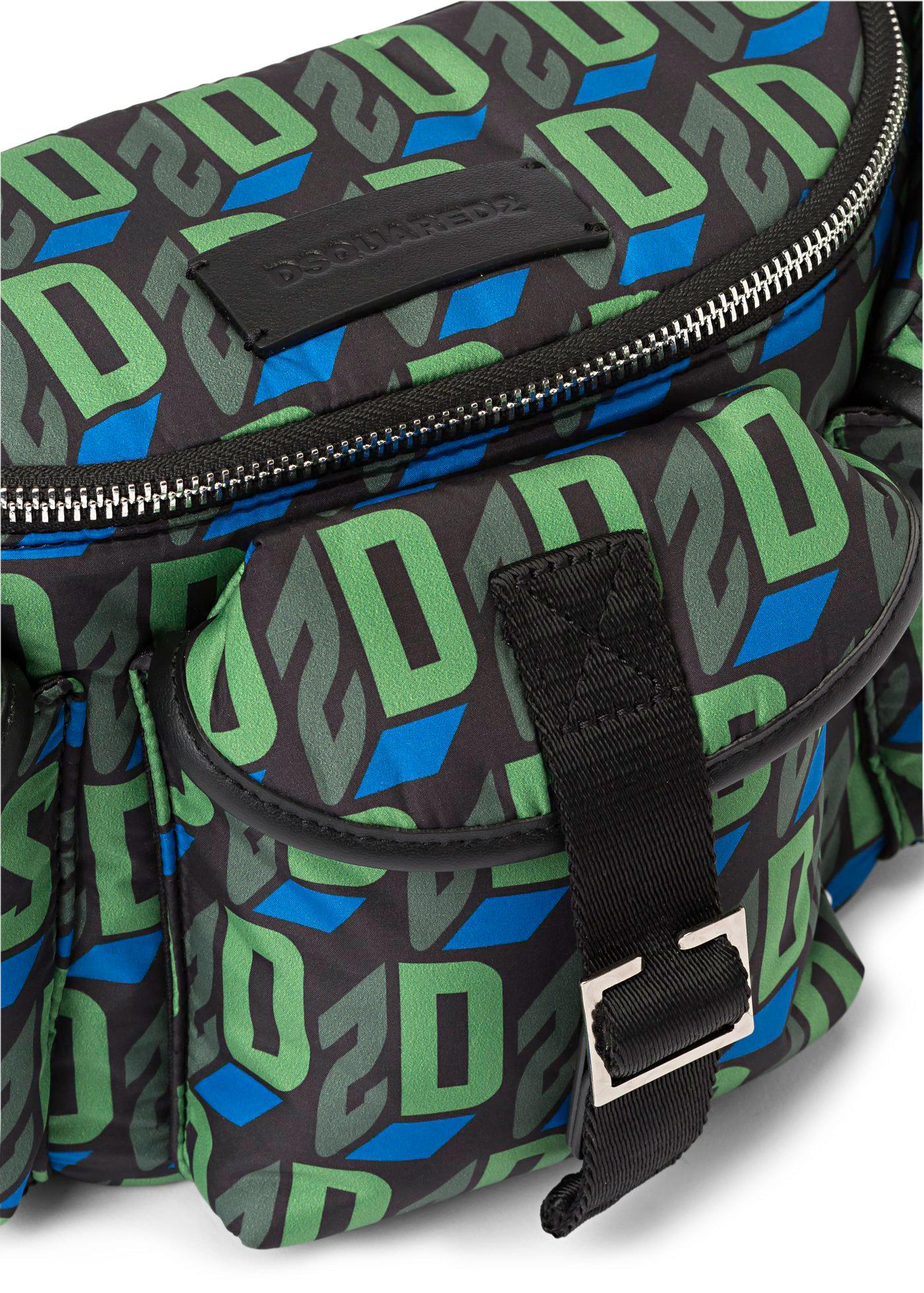 D2 MONOGRAM BELT BAG - PRINTED PADDED image number 2